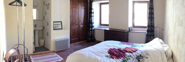 Maison Jaune - Vue panoramique de la chambre